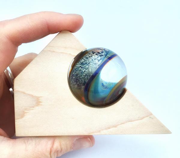 Full Circle Memory Beads Item - Cremains in marbles