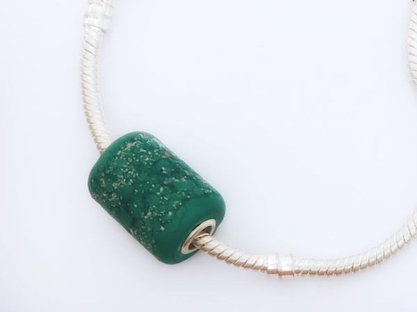 Full Circle Memory Beads Item - heart pendant