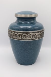 Simply Cremations Urn - Avalon Evening Blue
