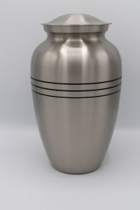 Simply Cremations Urn - Classic Pewter