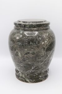 Simply Cremations Urn - Green Zebra Stone