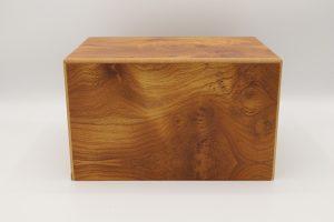 Simply Cremations Wood Urn - Hamilton Natural