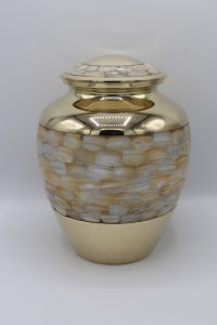 Simply Cremations Urn - Mother of Pearl