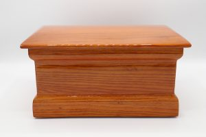 Simply Cremations Wood Urn - Providence Oak